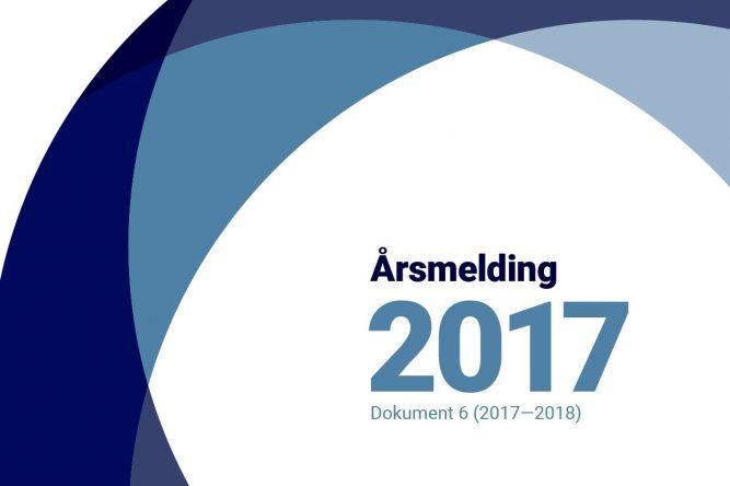 Les vår årlige rapport til Stortinget for 2017
