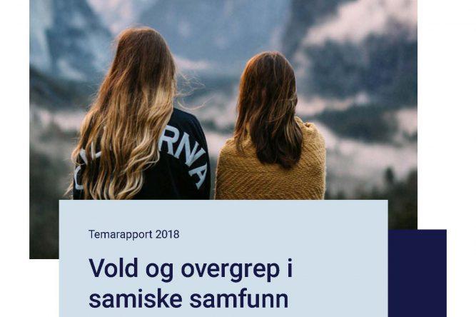 Temarapport 2018 - Vold og overgrep i samiske samfunn