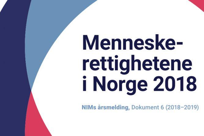 NIMs årlige rapport til Stortinget for 2018