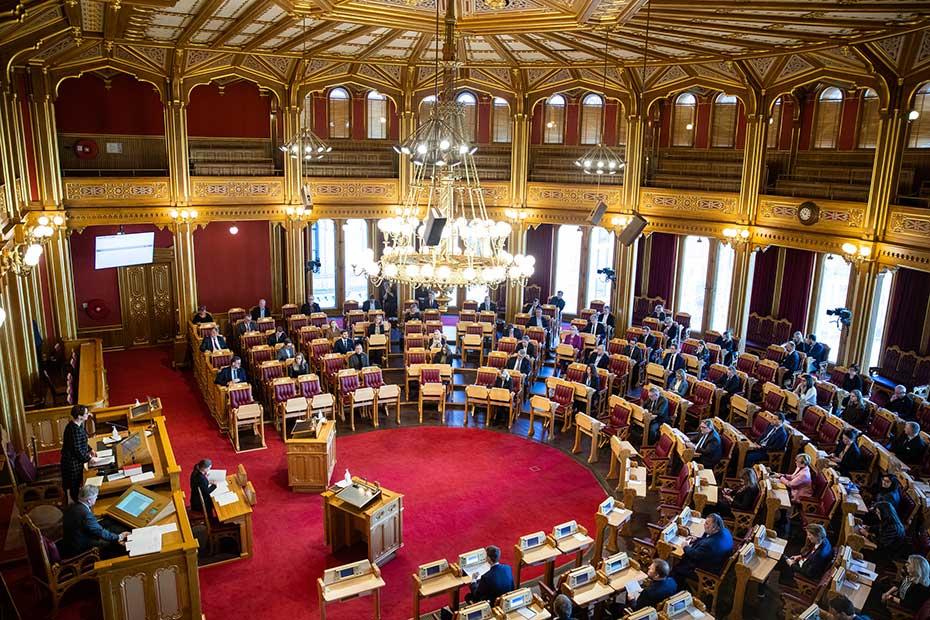 NIMs årsmelding for 2020 behandlet i Stortinget