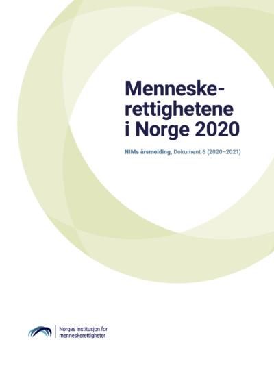 Forside: Menneskerettighetene i Norge i 2020