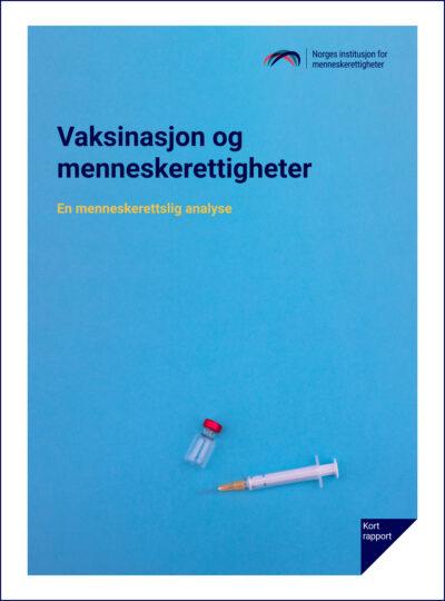 Forside: Vaksinasjon og menneskerettigheter