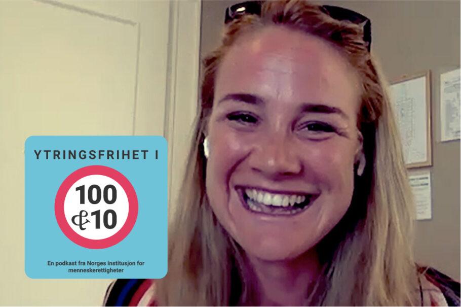 «Ytringsfrihet i 100 & 10» – om idrett med Birgit Skarstein